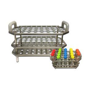 stainless steel 15 ml tube rack