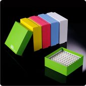 assorted color cardboard freezer box